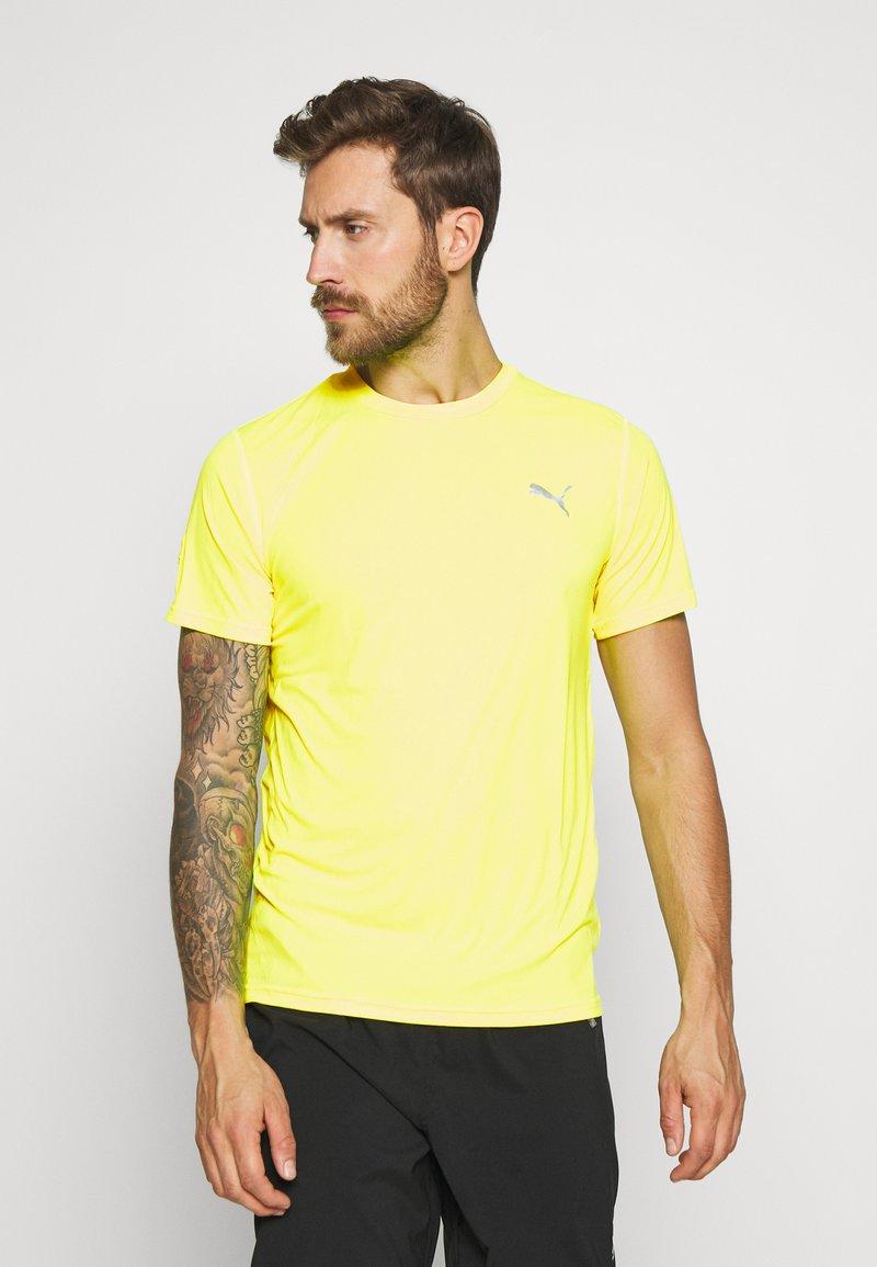 Puma - LAST LAP TEE - Camiseta básica - yellow alert