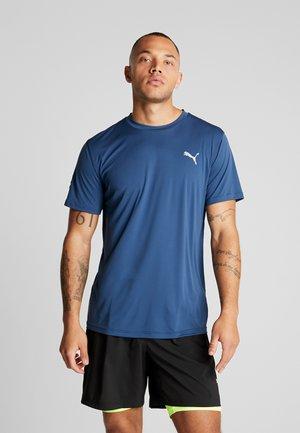 LAST LAP TEE - T-shirt basic - dark denim