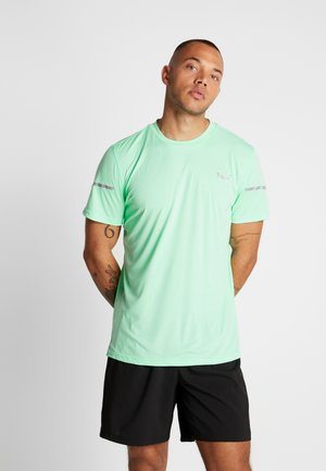 RUNNER ID THERMO R+ - T-shirt med print - green glimmer