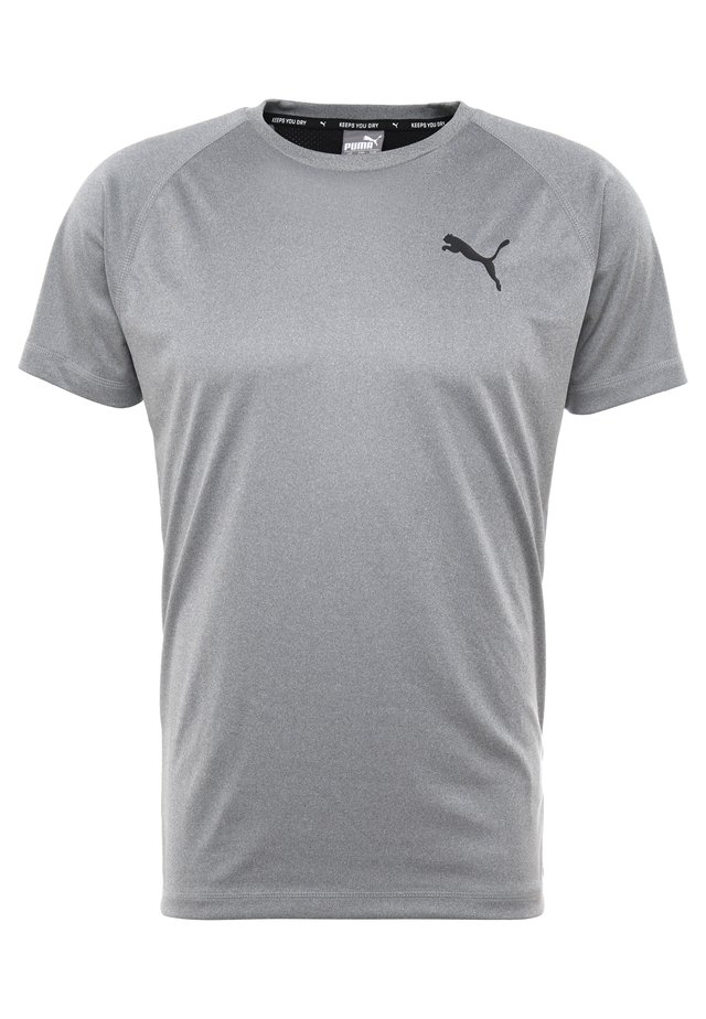 TEE - T-shirt basique - medium gray heather