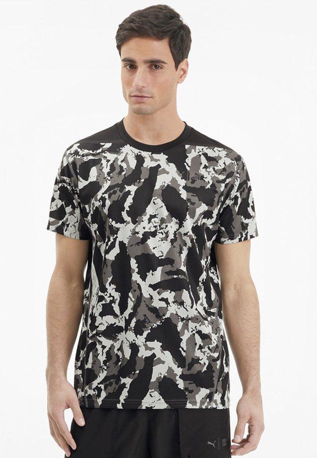 FIRST MILE TEE - T-shirt imprimé - castlerock-camo print