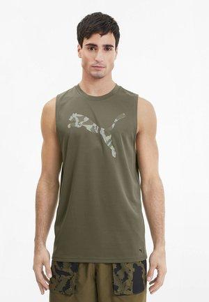 FIRST MILE TEE - T-shirt de sport - burnt olive
