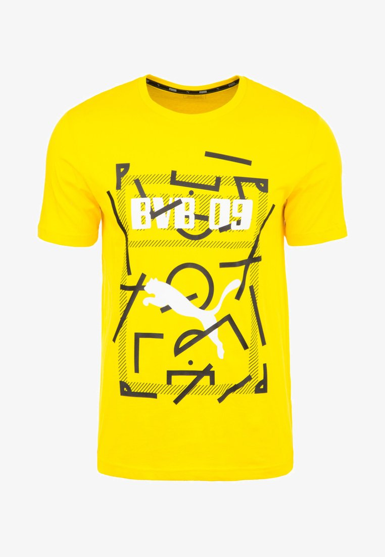 Puma - BORUSSIA DORTMUND DNA  - Vereinsmannschaften - cyber yellow