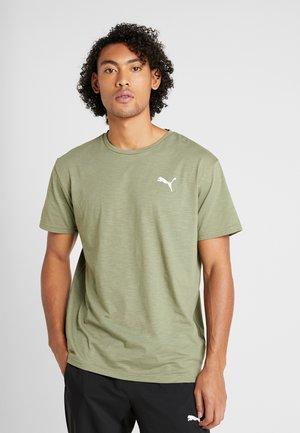 ENERGY TEE - T-shirt print - olive heather