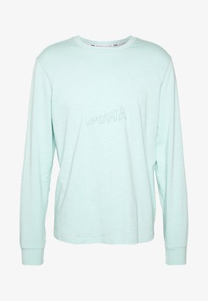 HOOPS BOUNCE TEE - Camiseta de manga larga - mist green