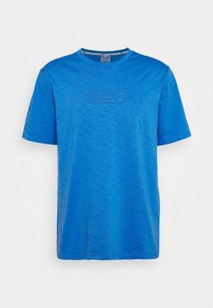 HOOPS TEE - Print T-shirt - palace blue