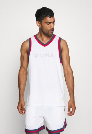 HOOPS BBALL - Top - white