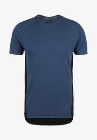 Puma - EVOSTRIPE - Basic T-shirt - dark blue - 0