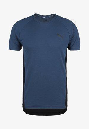EVOSTRIPE - T-shirt basique - dark blue