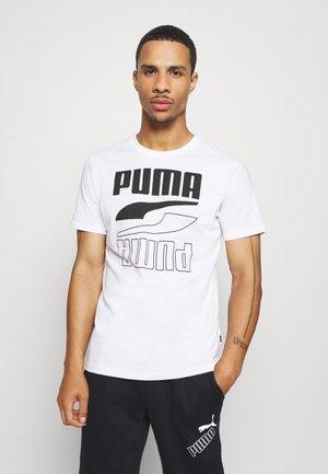 REBEL TEE - T-shirt imprimé - white