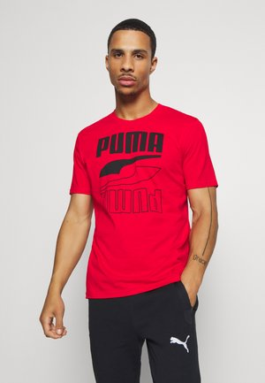 REBEL TEE - Print T-shirt - high risk red