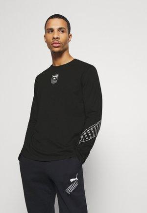 REBEL TEE - Bluzka z długim rękawem - black