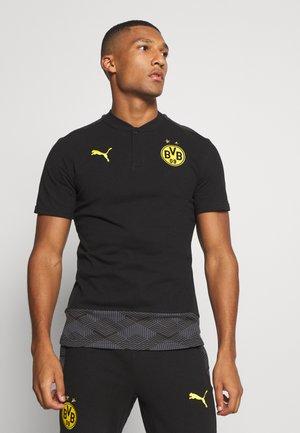 BVB BORUSSIA DORTMUND CASUALS - Equipación de clubes - black/cyber yellow