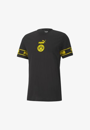 BVB FTBLCULTURE  - Club wear - black-cyber yellow