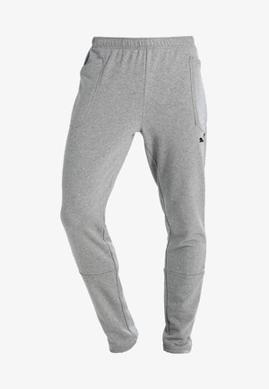 LIGA CASUALS PANTS - Träningsbyxor - medium gray heather/black
