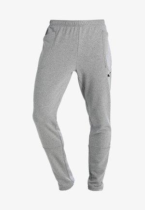 LIGA CASUALS PANTS - Spodnie treningowe - medium gray heather/black