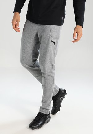 LIGA CASUALS PANTS - Spodnie treningowe - medium gray heather/black