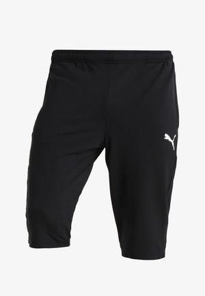 LIGA TRAINING PANTS - Pantalon 3/4 de sport - black/white
