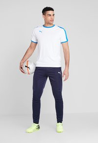 Puma - LIGA TRAINING PANTS - Spodnie treningowe - peacoat/white - 1