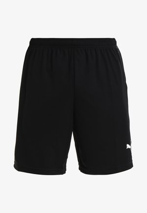 LIGA TRAINING SHORTS CORE - Korte broeken - black/white