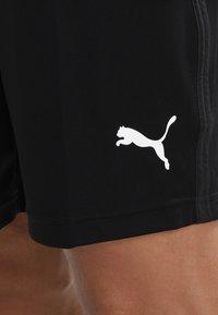 Puma - LIGA TRAINING SHORTS CORE - Pantalón corto de deporte - black/white - 3