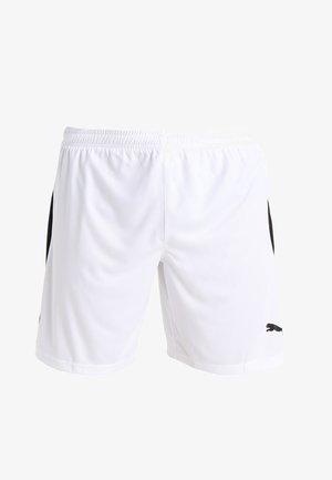 LIGA  - Pantalón corto de deporte - white/black