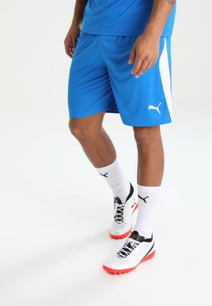 LIGA  - Träningsshorts - electric blue lemonade/white