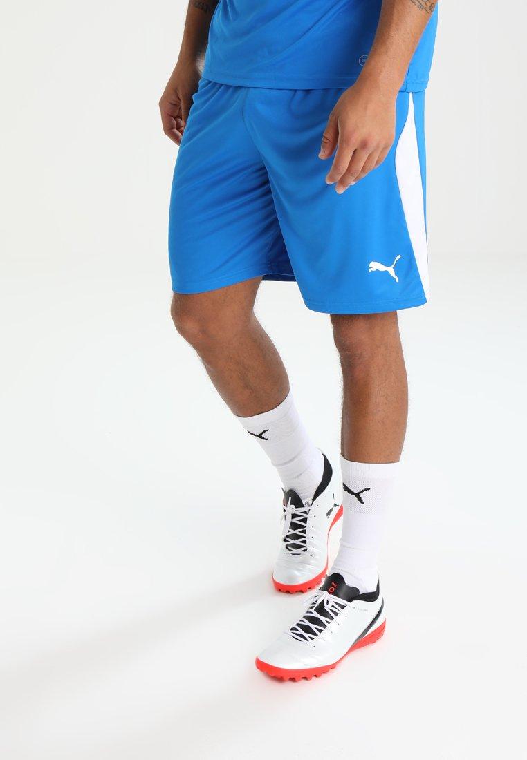 Puma - LIGA  - Sports shorts - electric blue lemonade/white
