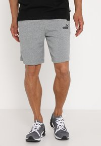 Puma - BERMUDAS - Sports shorts - medium gray heather - 0