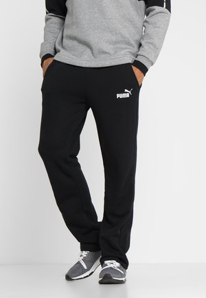 LOGO PANTS  - Trainingsbroek - puma black