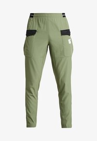 Puma - CASUAL PANTS - Träningsbyxor - olivine/charcoal gray - 3