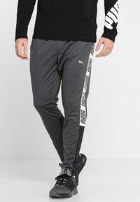 Puma - TRACK PANT  - Teplákové kalhoty - asphalt/puma black/puma white - 0