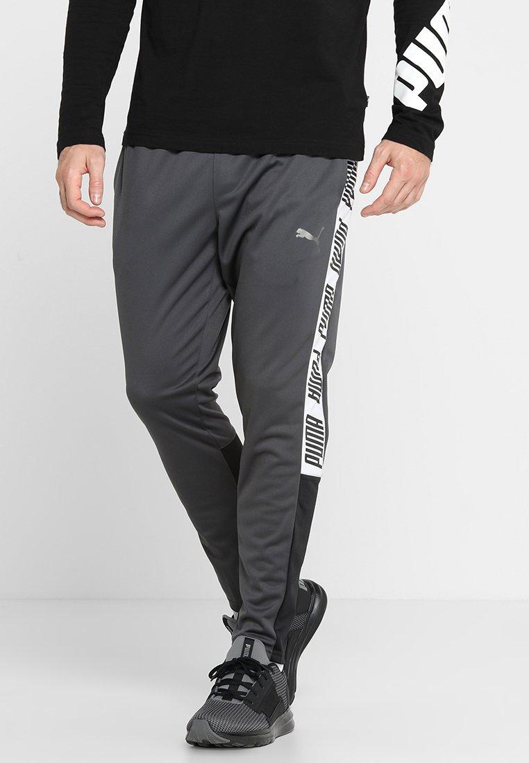 Puma - TRACK PANT  - Teplákové kalhoty - asphalt/puma black/puma white