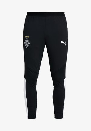 BORUSSIA MÖNCHENGLADBACH TRAINING PANTS PRO WITH POCKETS - Tights - black