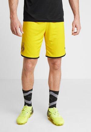 BVB BORUSSIA DORTMUND SHORTS REPLICA - Sports shorts - cyber yellow/black
