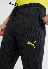 Puma - BVB BORUSSIA DORTMUND CASUALS PANTS - Pantalones deportivos - phantom black - 5