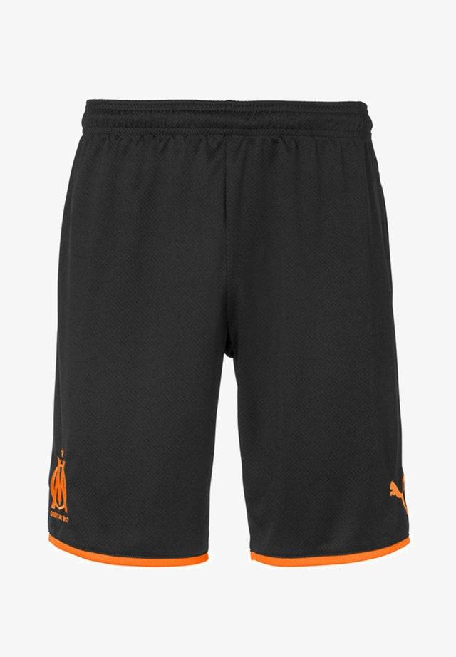 OLYMPIQUE MARSAILLE - Pantaloncini sportivi - black-orange popsicle