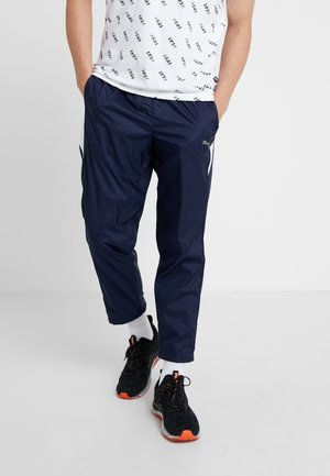 REACTIVE PANT - Tracksuit bottoms - peacoat/white