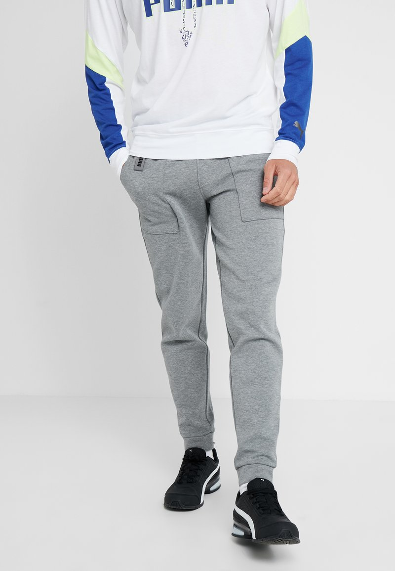 Puma - TILITY PANT - Jogginghose - medium gray heather