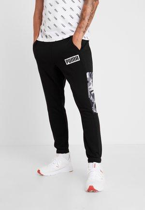 REBEL CAMO PANTS  - Träningsbyxor - puma black
