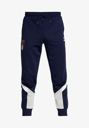 ITALIEN ICONIC TRACK PANTS - Pantalones deportivos - peacoat/grey