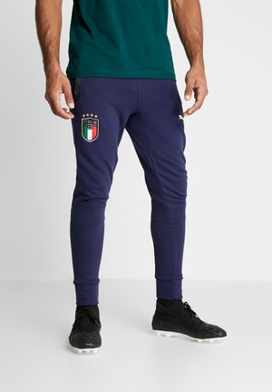 ITALIEN FIGC CASUALS PANTS - Nationalmannschaft - blue