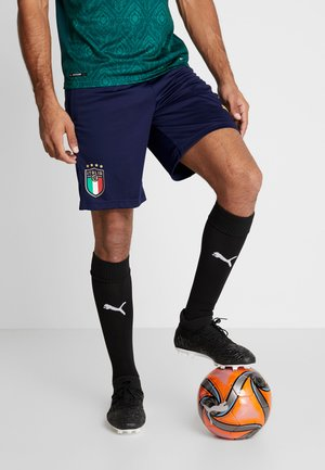 ITALIEN FIGC TRAINING SHORTS - kurze Sporthose - peacoat/gold