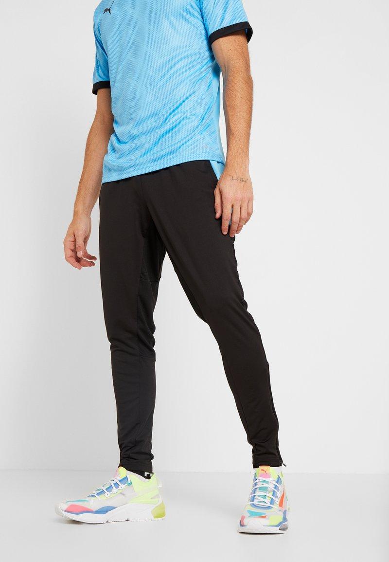 Puma - PANT - Pantalon de survêtement - puma black/luminous blue