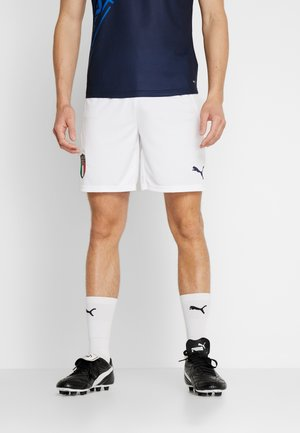 ITALIEN FIGC HOME & AWAY SHORTS - Sports shorts - puma white/peacoat