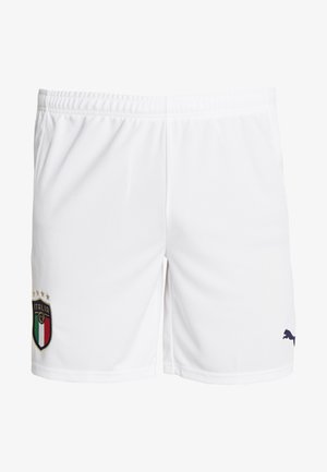 ITALIEN FIGC HOME & AWAY SHORTS - Korte broeken - puma white/peacoat