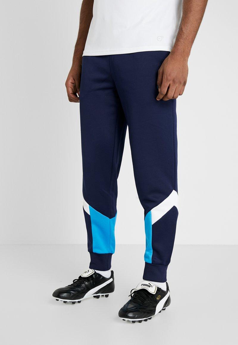 Puma - OLYMPIQUE MARSEILLE ICONIC TRACK PANTS - Pantalon de survêtement - peacoat
