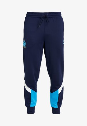 OLYMPIQUE MARSEILLE ICONIC TRACK PANTS - Tracksuit bottoms - peacoat
