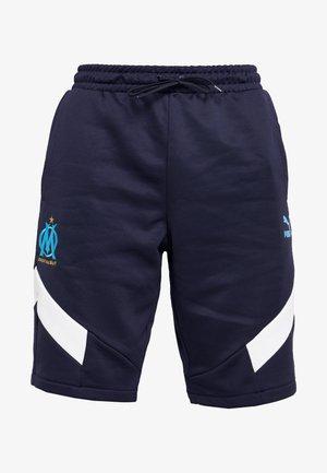 OLYMPIQUE MARSEILLE ICONIC SHORTS - Pantaloncini sportivi - peacoat
