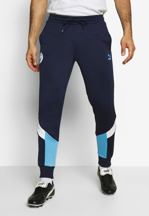 MANCHESTER CITY ICONIC TRACK PANTS - Fanartikel - peacoat/team light blue